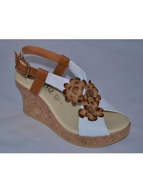 Cork Sandals for women: women's Sandal Moulin Rouge.